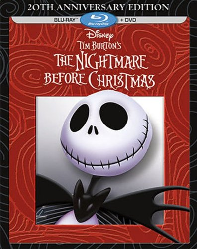 Tim Burton's The Nightmare Before Christmas – 20th Anniversary Edition (Blu-ray / DVD Combo Pack)